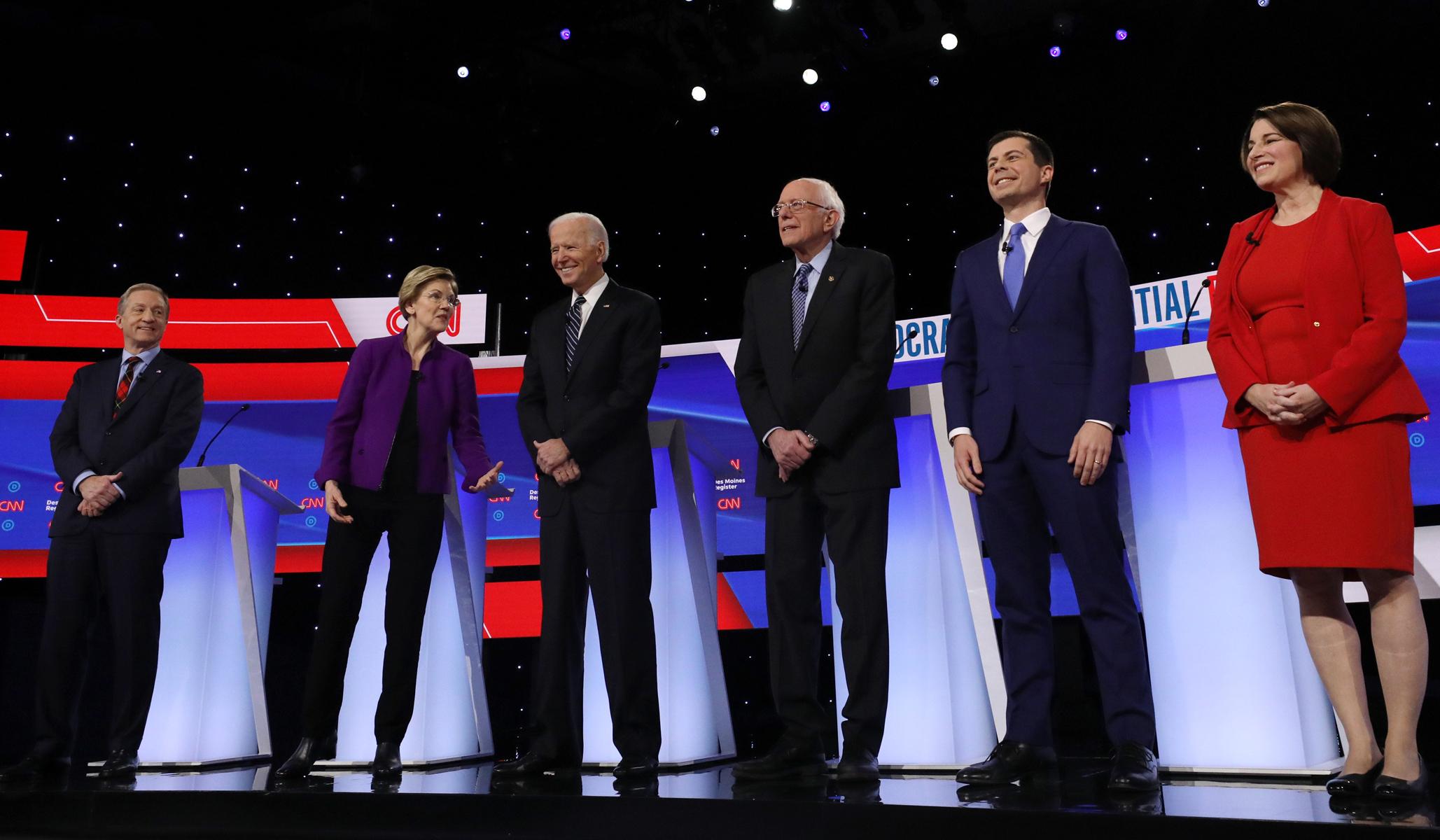 Starting Tuesday, Biden and Buttigieg Have a Gargantuan Advantage