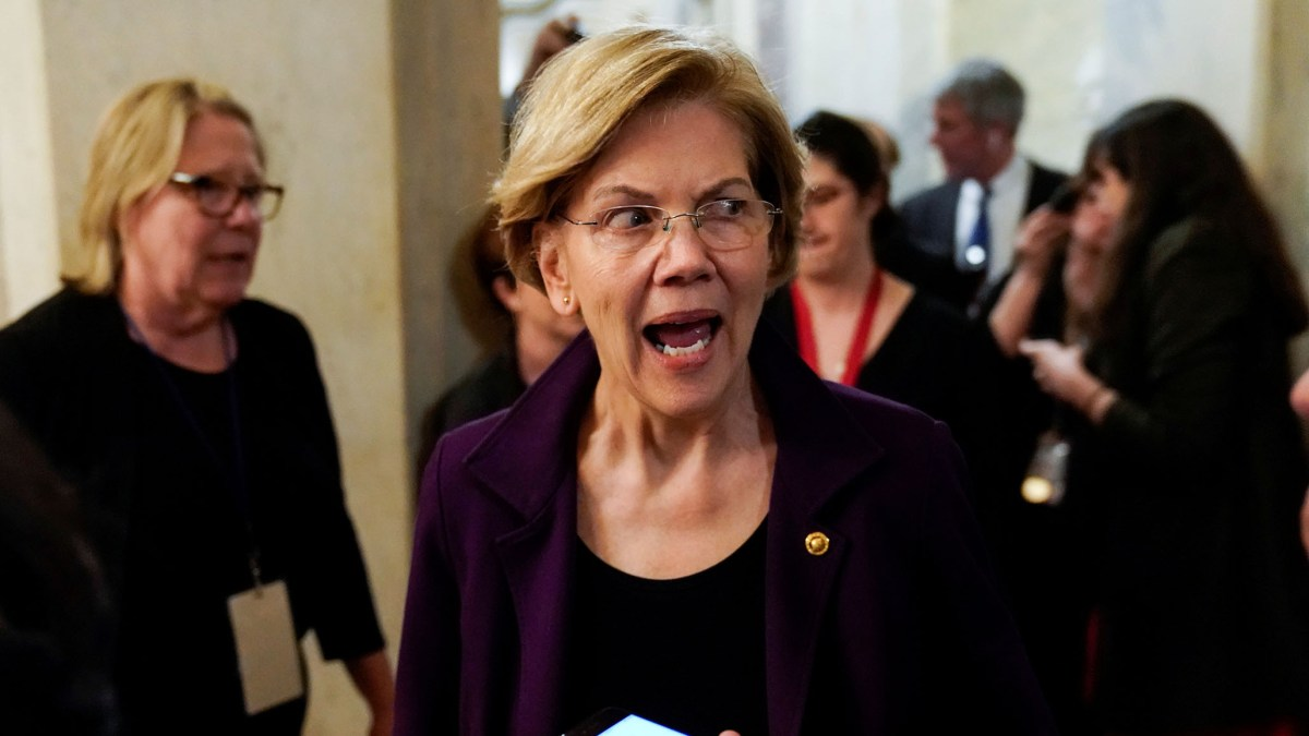 Warren Calls on Barr to 'Resign or Face Impeachment' over Intervention in Roger Stone Case | National Review