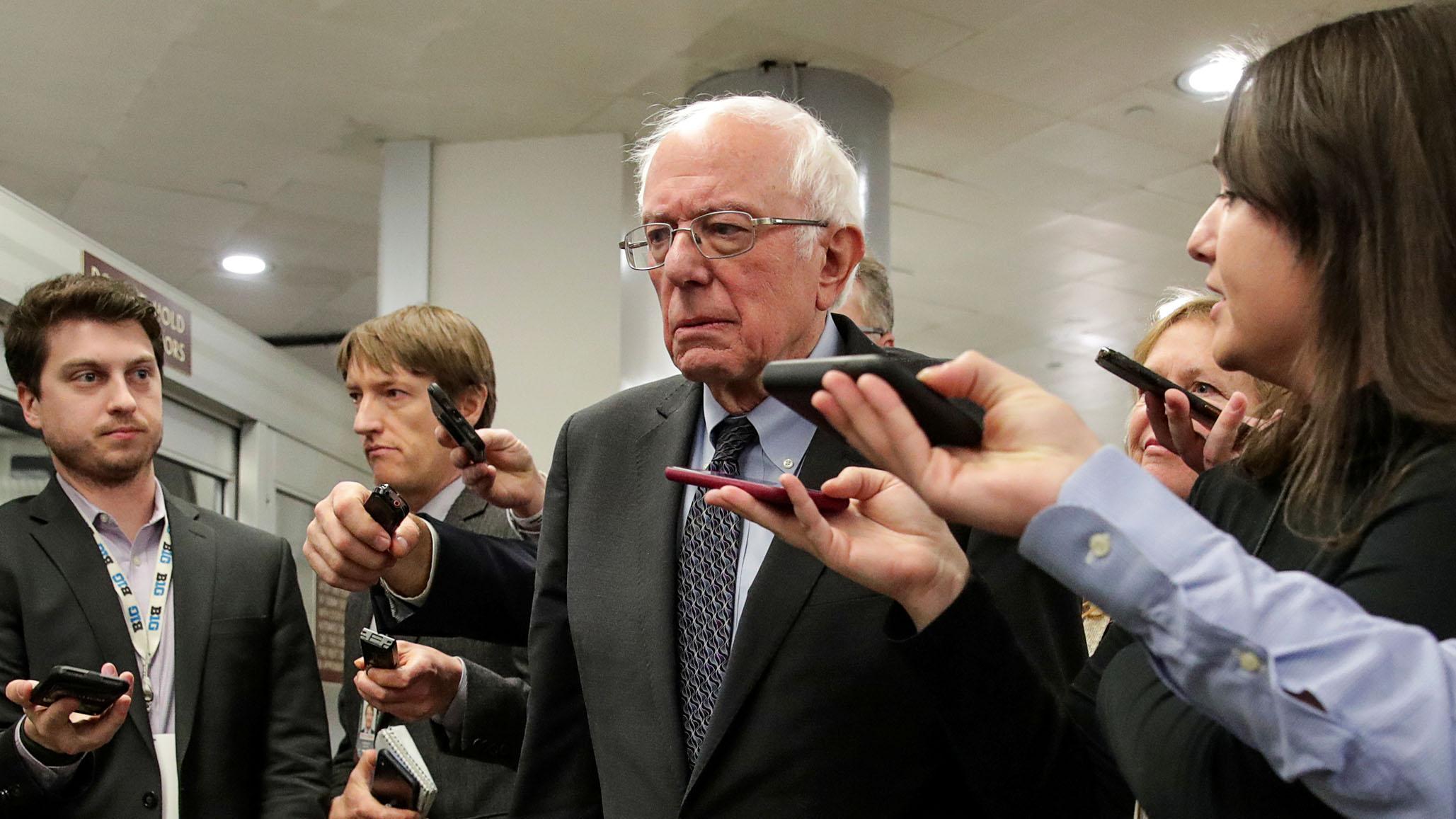Bernie's People Problem