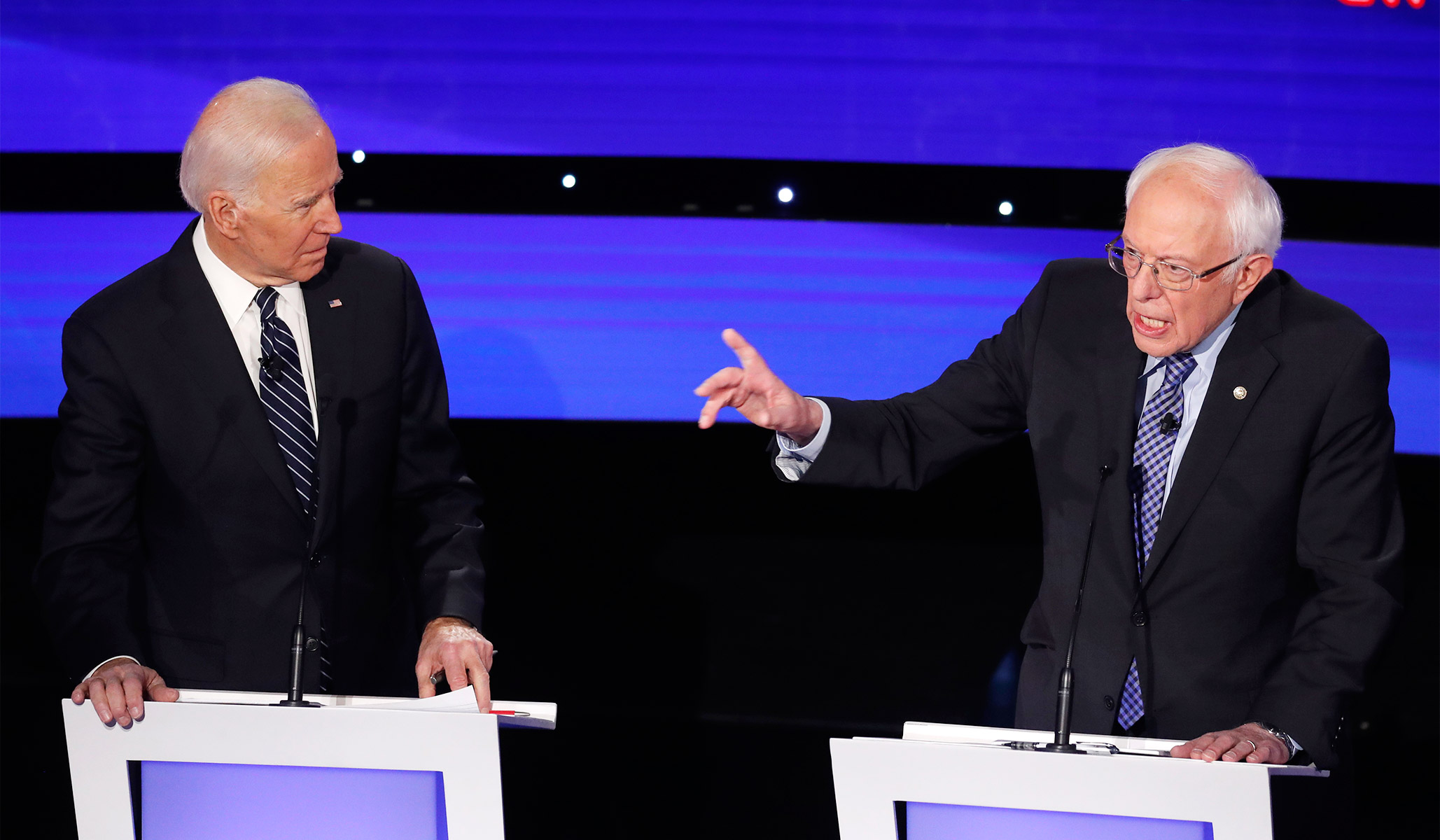 Bernie Cites Biden's NAFTA Support as Evidence He Prioritizes Corporations Over Workers