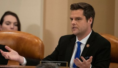 Gaetz Considering Leaving Congress for Role at Newsmax: Report