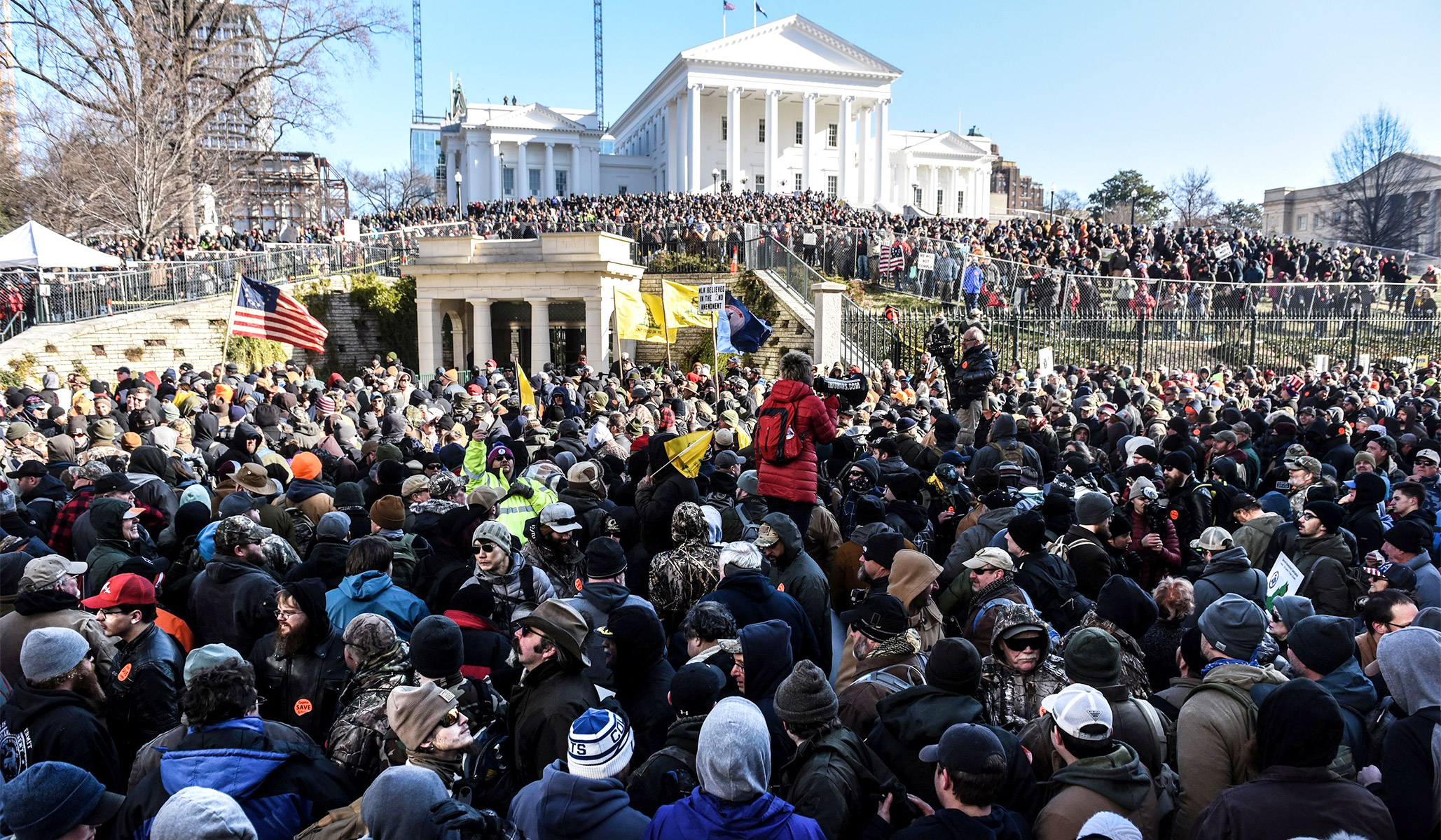 Gun Owners Rally in Richmond . . . and the Predictions of Violence Look Like Panic