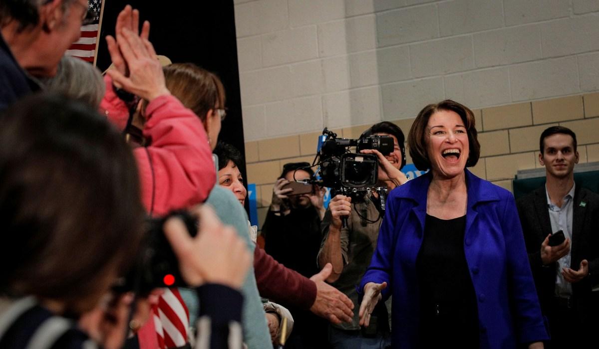 Klobuchar Overtakes Biden, Warren in Two New Hampshire Polls | National Review