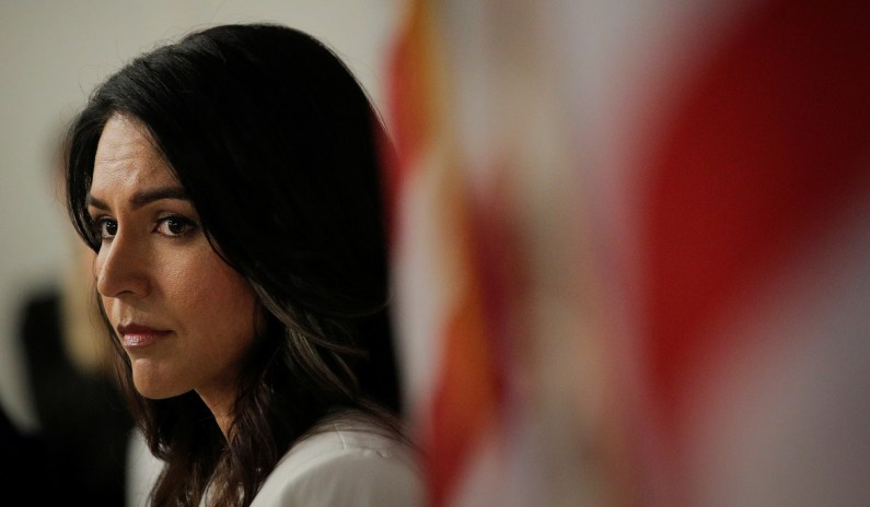 Tulsi Gabbard: Domestic-Terrorism Bill Is 'a Targeting of Almost Half of the Country' thumbnail