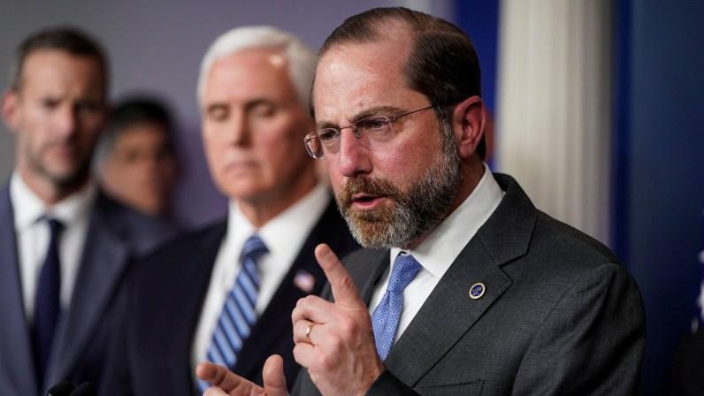 HHS Secretary Alex Azar Resigns, Citing Pro-Trump Capitol Riot