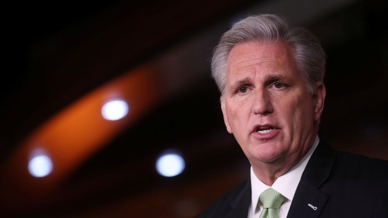 McCarthy Says He Has 'Concerns' over Cheney's Vote to Impeach