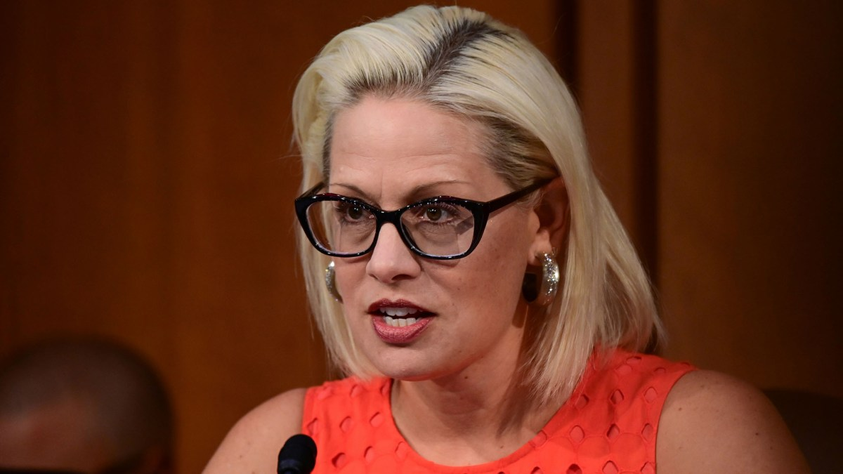 Sinema Criticizes Biden Admin on the Border: 'This Is a Crisis; We All Know It' | National Review