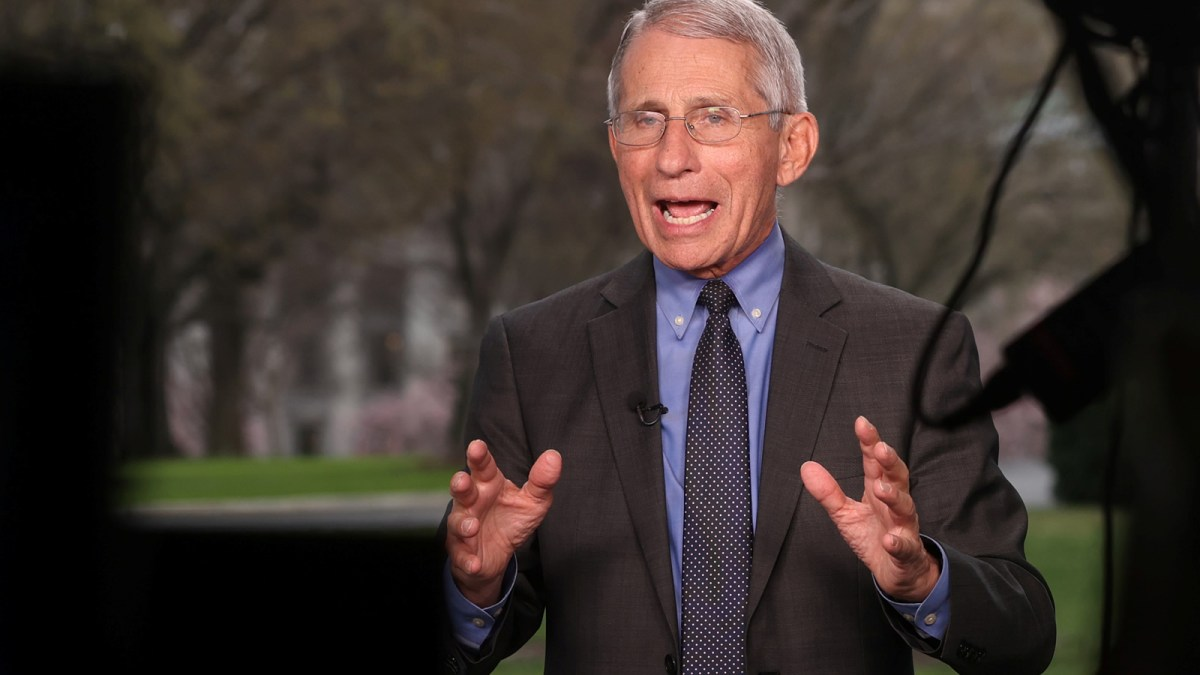 Fauci Whitewashes His Record on the Lab-Leak Theory | National Review
