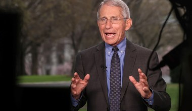 Fauci Whitewashes His Record on the Lab-Leak Theory