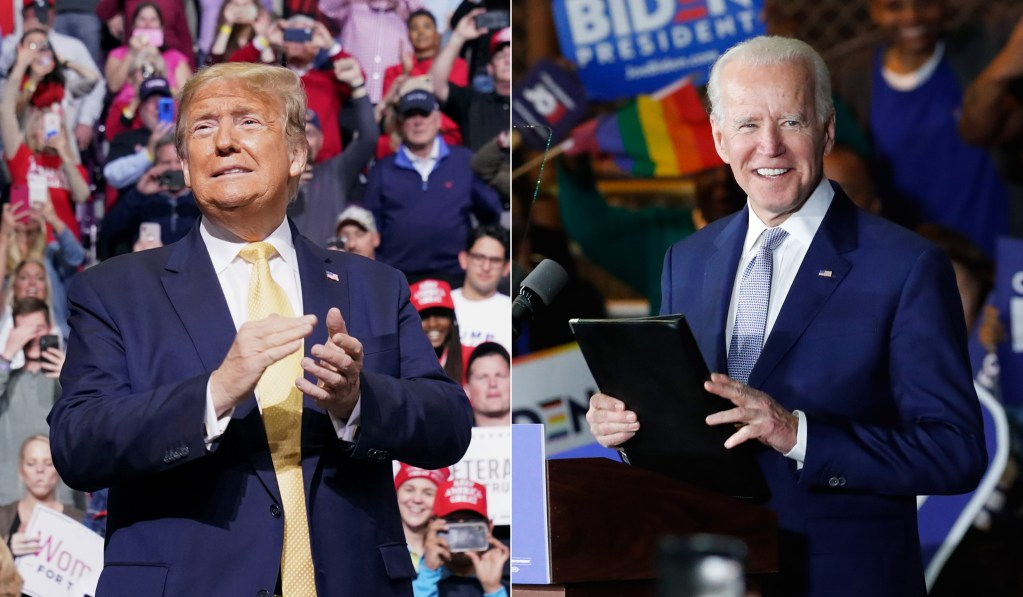 Presidential candidates trade early wins; Trump takes Kentucky, Biden gets Vermont thumbnail