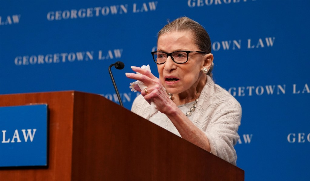 Justice Ginsburg Hospitalized With an Infection