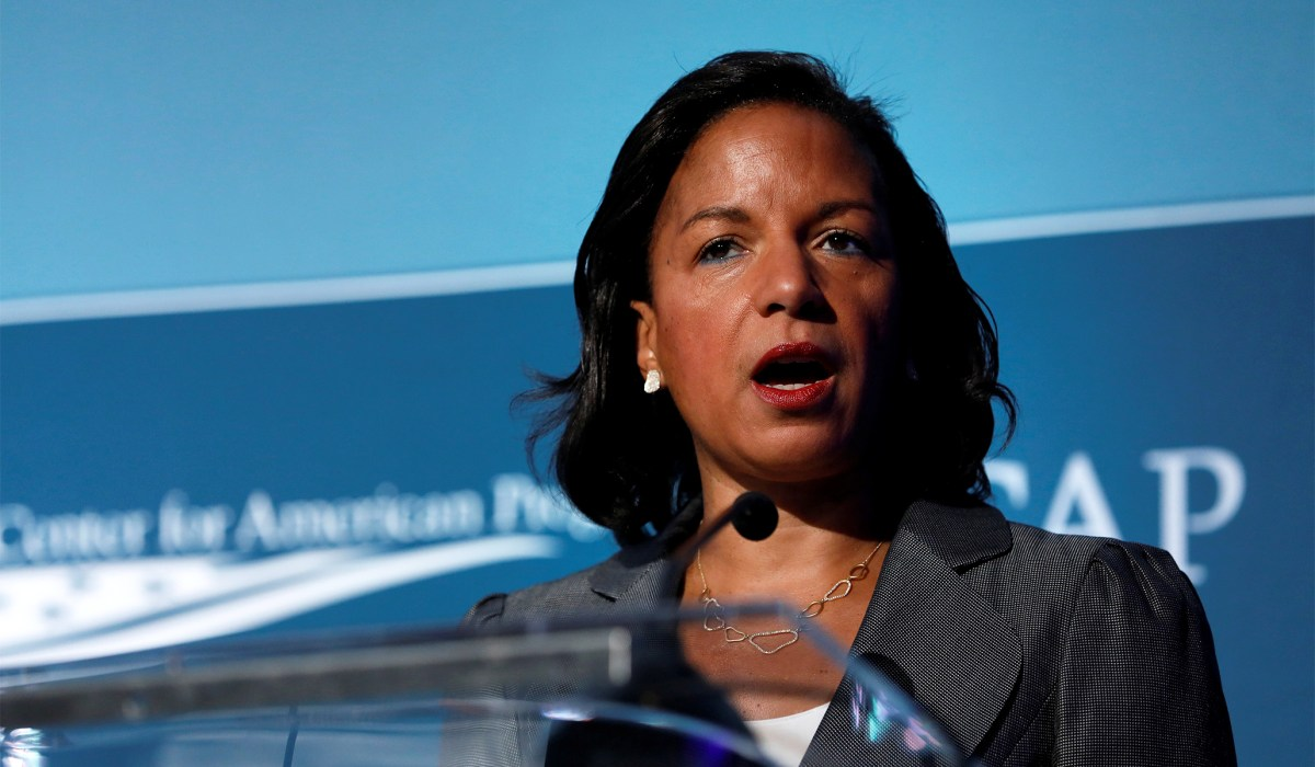 Susan Rice Blames 'Foreign Actors' for Stirring George Floyd Protests: 'Right Out of the Russian Playbook' | National Review