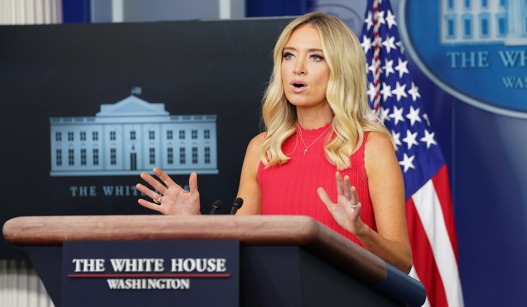 McEnany Reiterates Qualified-Immunity Reform Is a 'Non-Starter' thumbnail