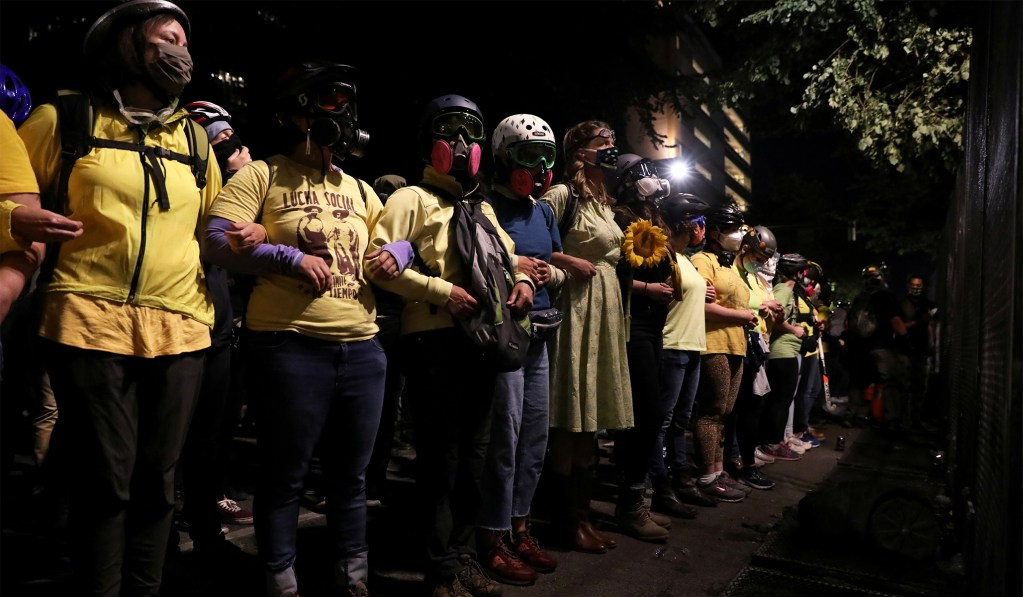 Portland BLM Protesters Sue Trump Administration Over Use of Tear Gas, Force