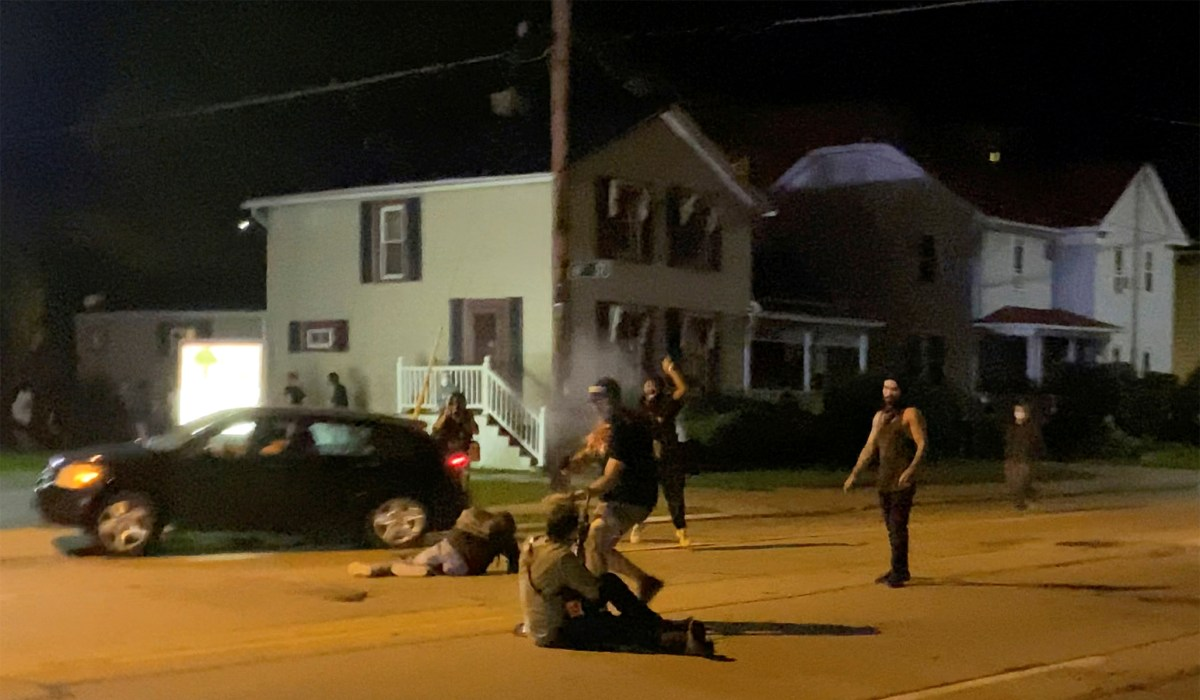 in Two Least At Wisconsin Riots: Injured One Killed,