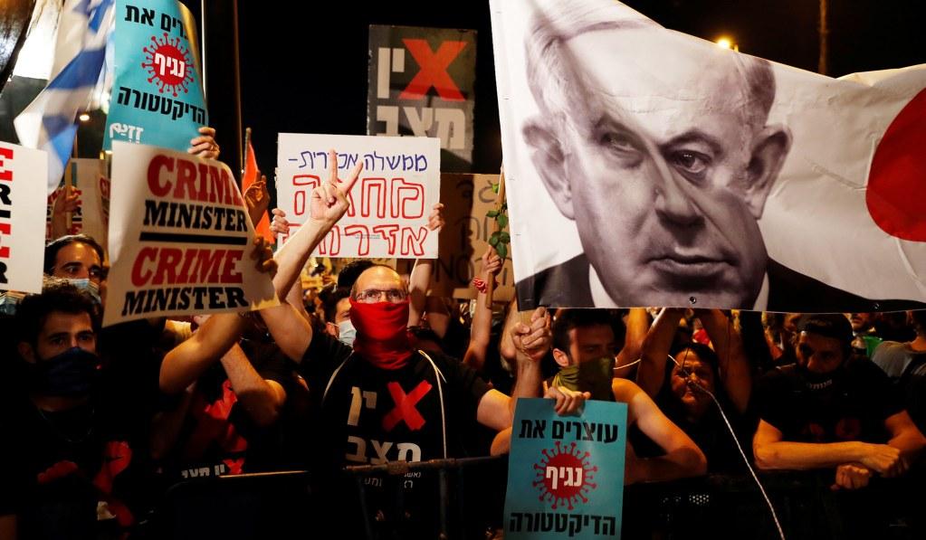 Anti-Netanyahu Protests Swell in Israel