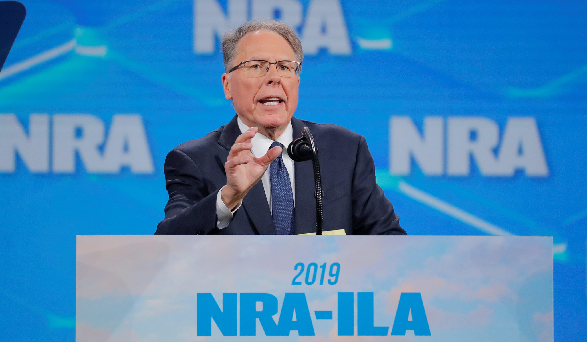 NRA Head Wayne LaPierre Under IRS Investigation for Tax Fraud: Report thumbnail