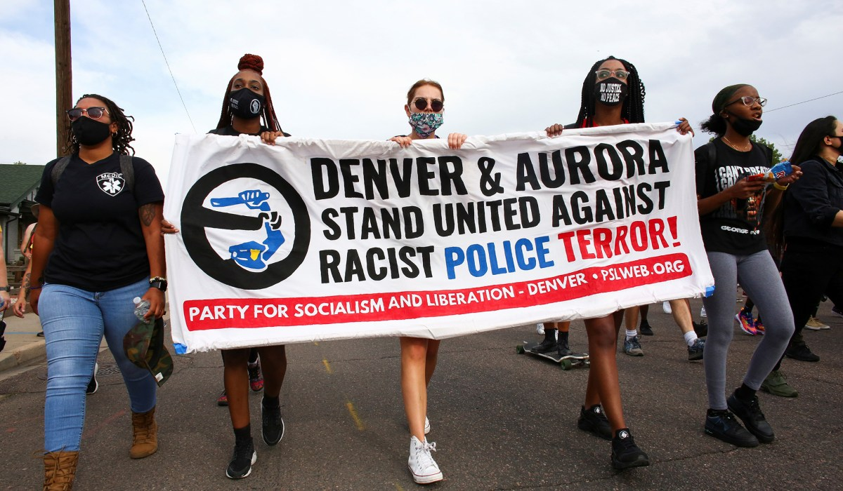 Communist Organizers Arrested after Allegedly Barricading Officers Inside Aurora Police Department | National Review