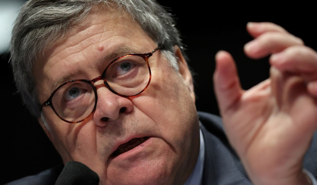 Trump Campaign Clashes with Barr for Pushing Back on Voter Fraud Claims thumbnail