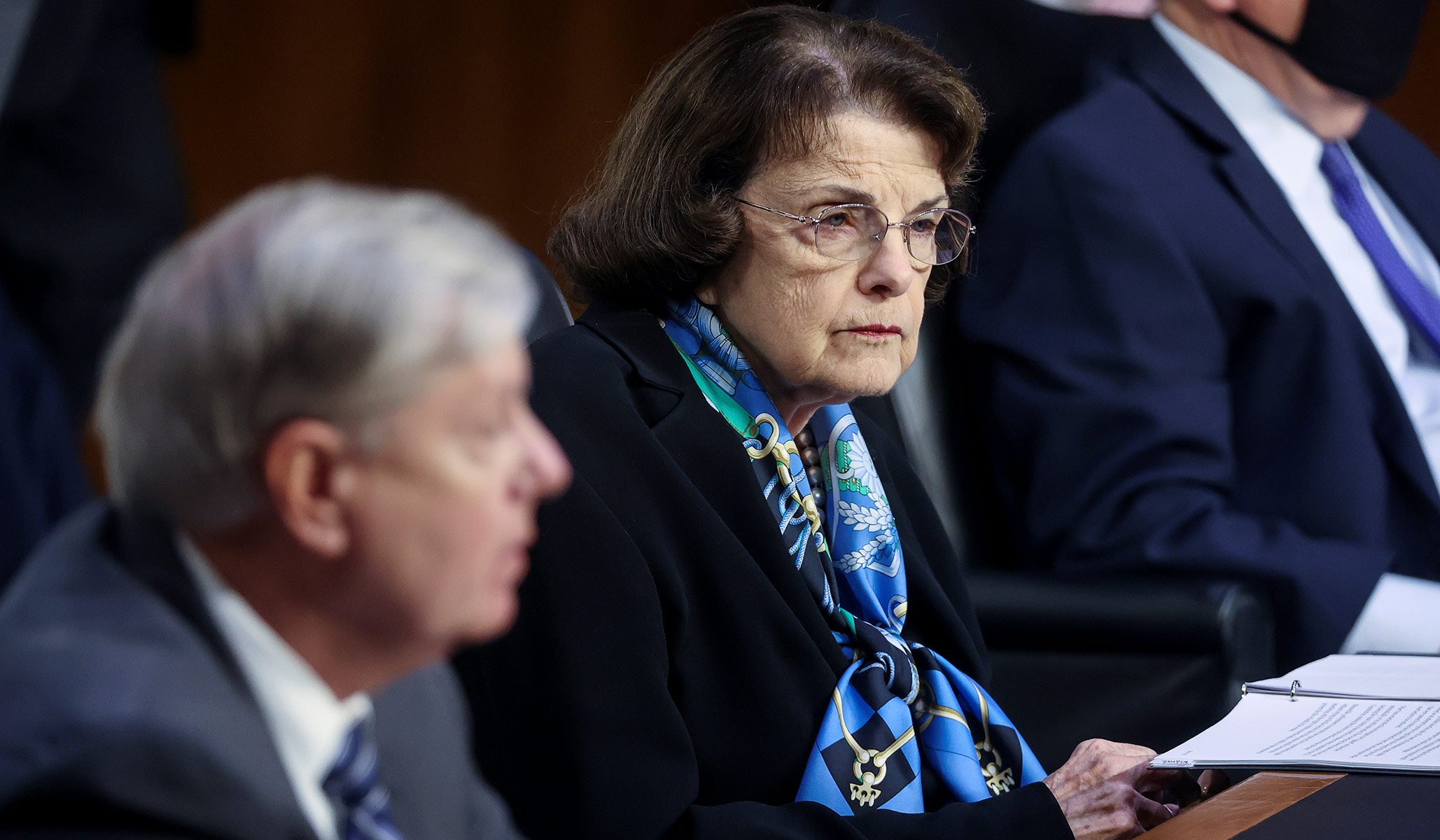 amy coney barrett hearings dianne feinstein thanks lindsey graham national review dianne feinstein thanks lindsey graham