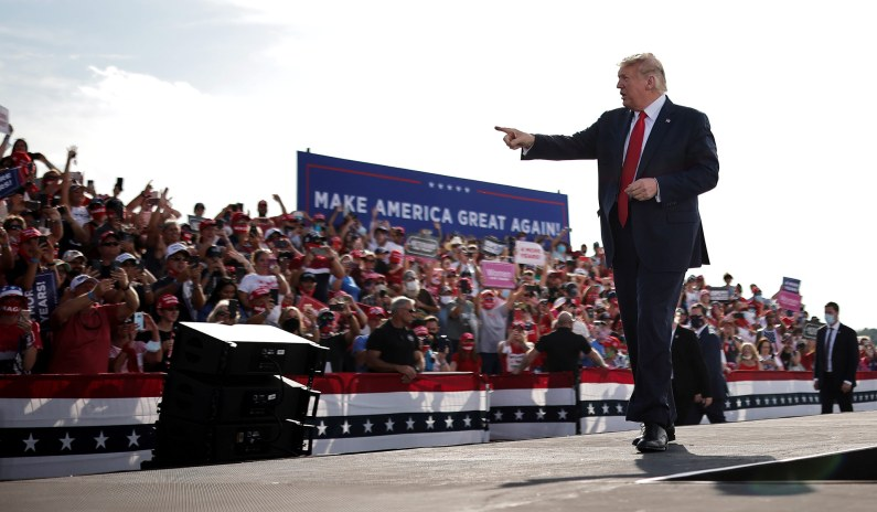 Trump Hints at 2024 Run, Says Supporters Will Be 'Very Happy' thumbnail