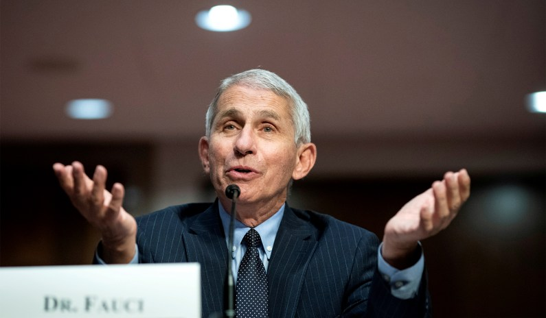 Fauci Admits Post-Vaccination Masking Was About 'Signals' Weeks after Insisting Otherwise