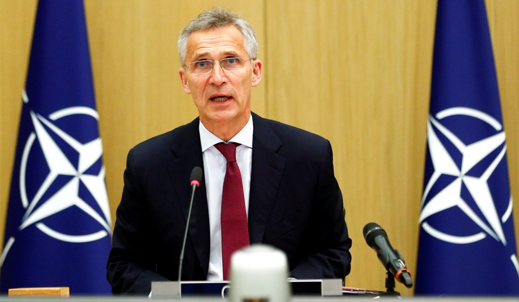 NATO Chief Concerned About Withdrawing Troops from Afghanistan 'Too Soon'