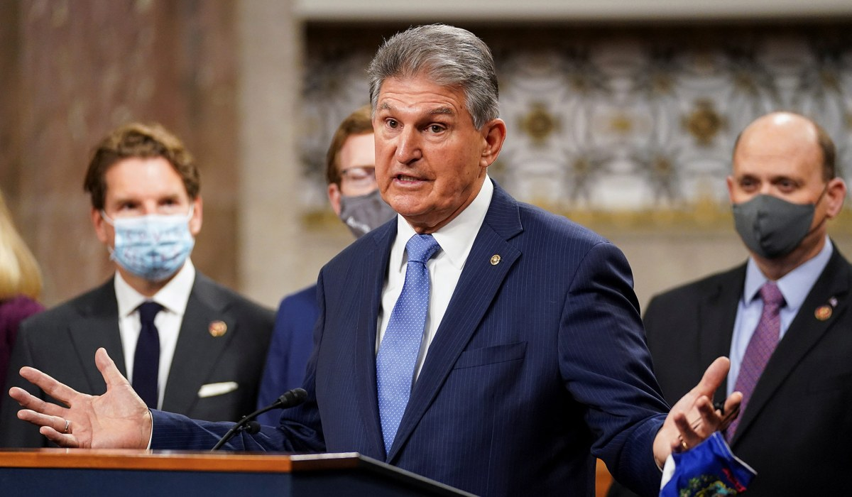 Manchin Comes Out against Neera Tanden's Confirmation as OMB Director