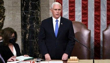 Pence 'Proud' of Rejecting 'Un-American' Demand That He Overturn Election Results