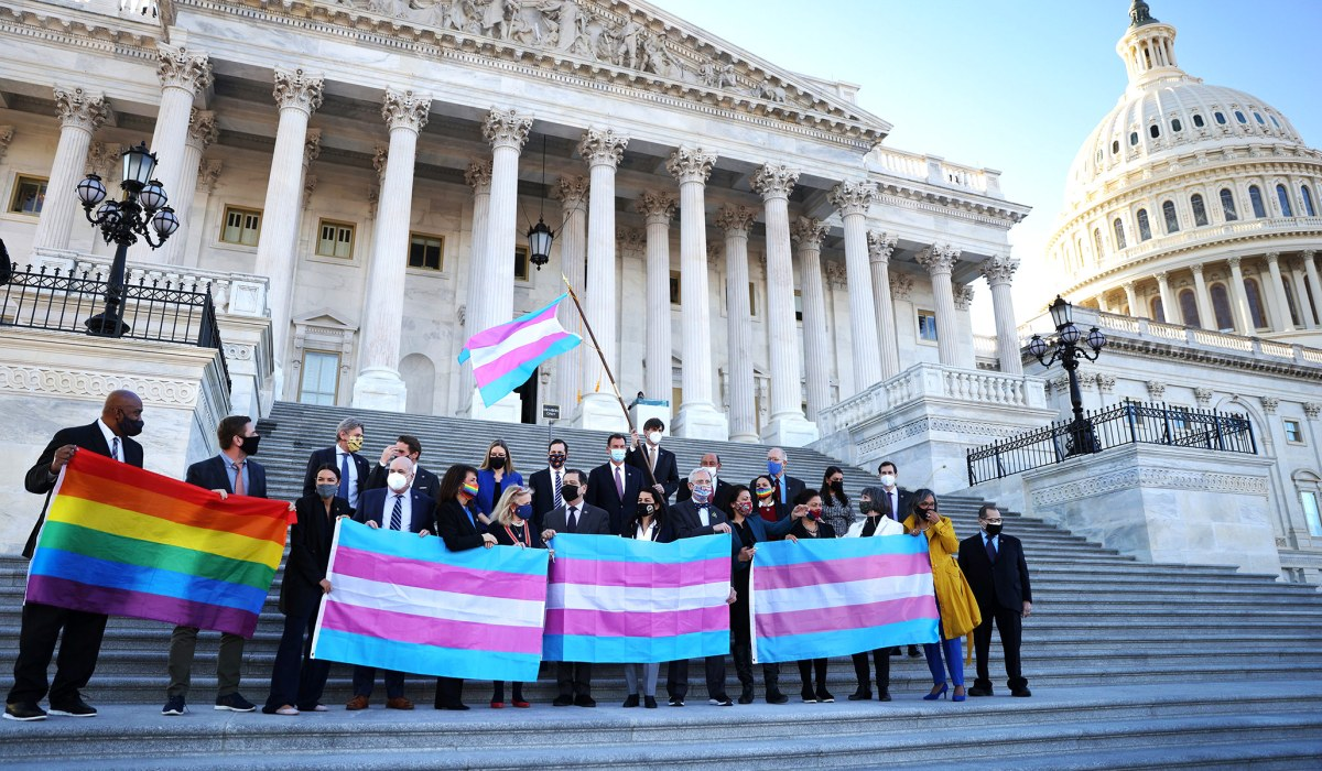 Poll Showing Americans Are 'Overwhelmingly' Pro–Transgender Ideology Is Misleading | National Review