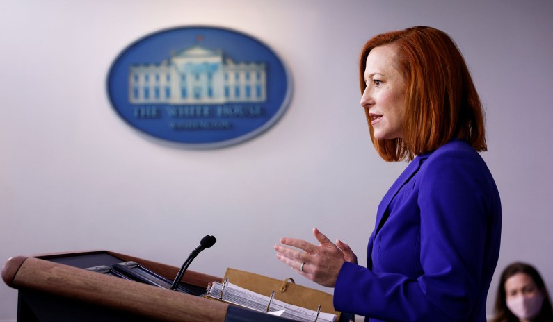 Psaki Accuses GOP of Using 'Conspiracy Theories' to Restrict Voting: 'Much Bigger Than Georgia'