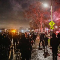 Officials: One Hundred Arrested in Brooklyn Center Riot, Emergency Curfew Put in Place