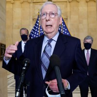 McConnell Says 'Zero' Republicans Will Back Biden's Infrastructure Package