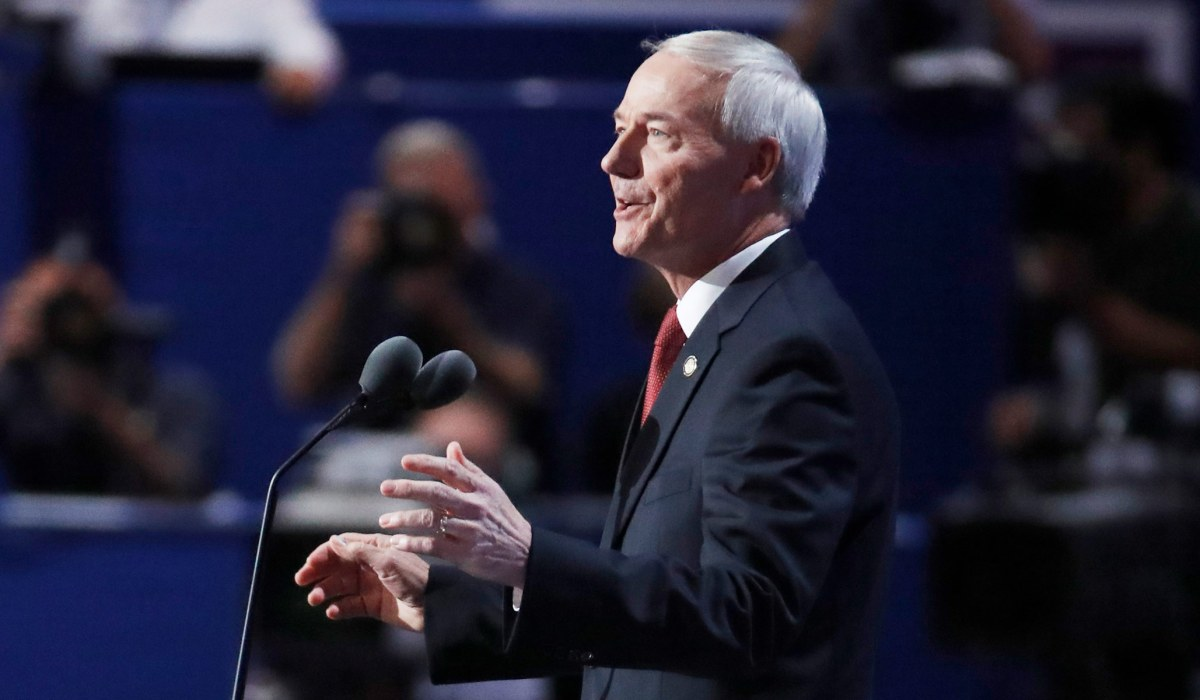 Arkansas Governor Says Veto of Trans Youth Bill Aligns with Conservative Values   National Review