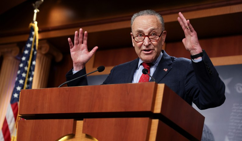Chuck Schumer's Tax Bailout for Rich Liberals