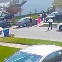 New Footage of Columbus Shooting Released from Neighbor's Security Camera