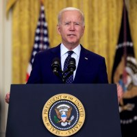 Biden Says 'Now is the Time to Deescalate' While Announcing New Russia Sanctions