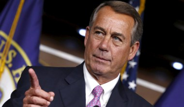 John Boehner Is Mad at Conservatives for Holding Him to His Campaign Promises