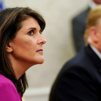Nikki Haley Says She Won't Run for President in 2024 if Trump Does
