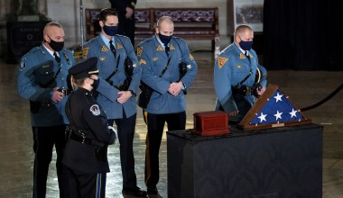 Officer Brian Sicknick Died of Natural Causes after Capitol Riot, Medical Examiner Says