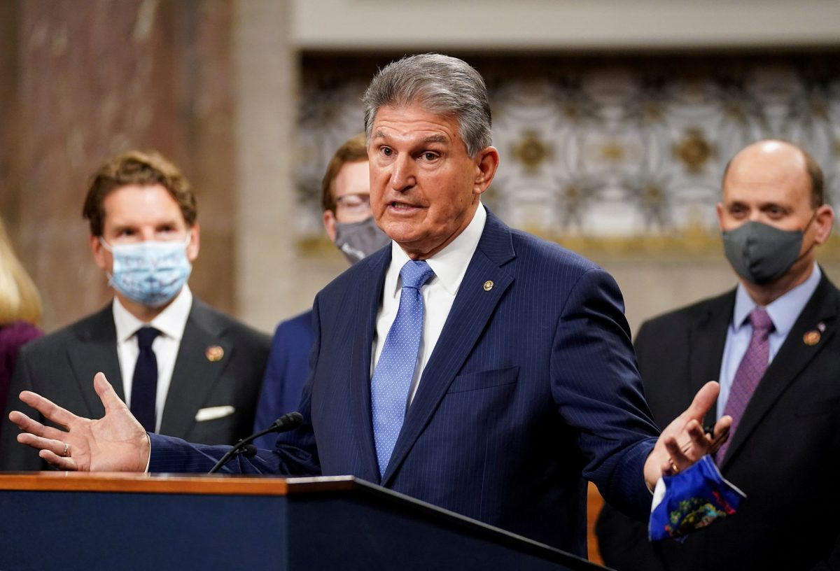 Joe Manchin Just Blew Up Rationale for Republicans to Cut an Infrastructure Deal   National Review