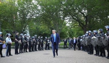 Judge Dismisses Claims That the Trump Admin Cleared Lafayette Square for a Photo-Op