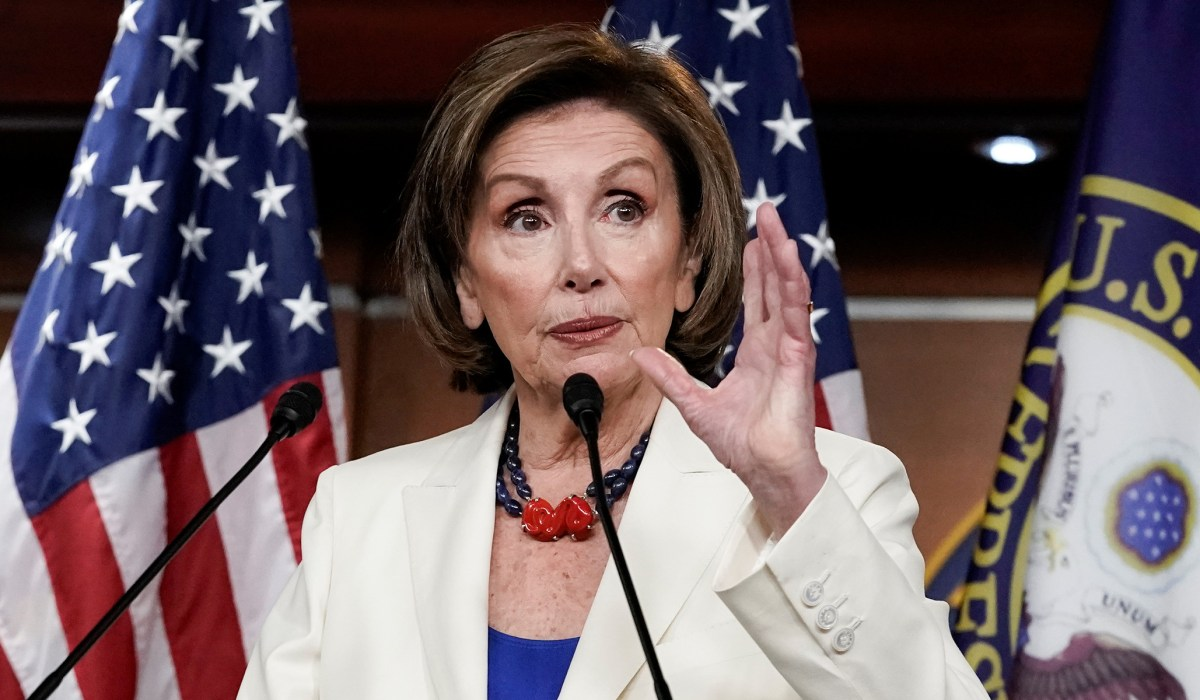 Pelosi Denies 'Rebuking' Omar over U.S.-Taliban Comparison: 'She Clarified, We Thanked Her' | National Review