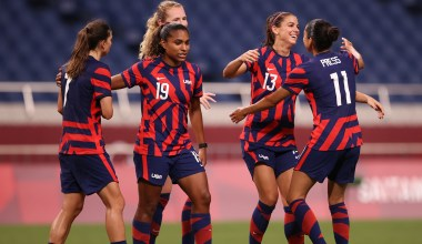 U.S. Women's Soccer Team Collects First Win of Tokyo Olympics
