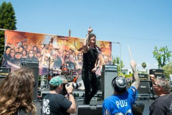 Fifth Annual RIDE FOR RONNIE Motorcycle Ride  Concert Raises 46000 for Ronnie James Dio Stand