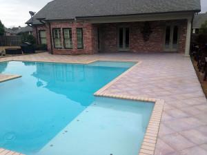ceramic tiles around pool decks