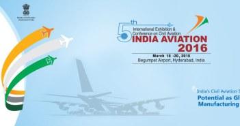 India Aviation 2016 Hyderabad