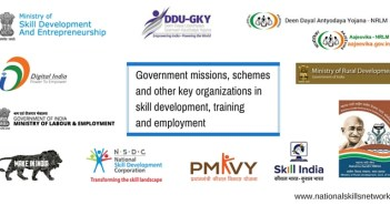 Skill development government schemes in India