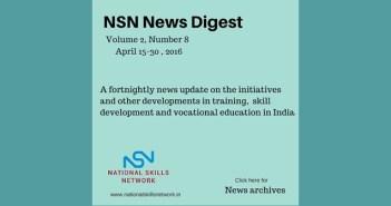 skill development news India - April 2016