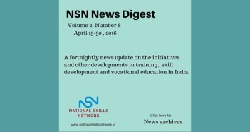 skill development news India - April 2016